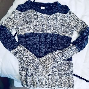J Crew Color Block Sweater Size XS